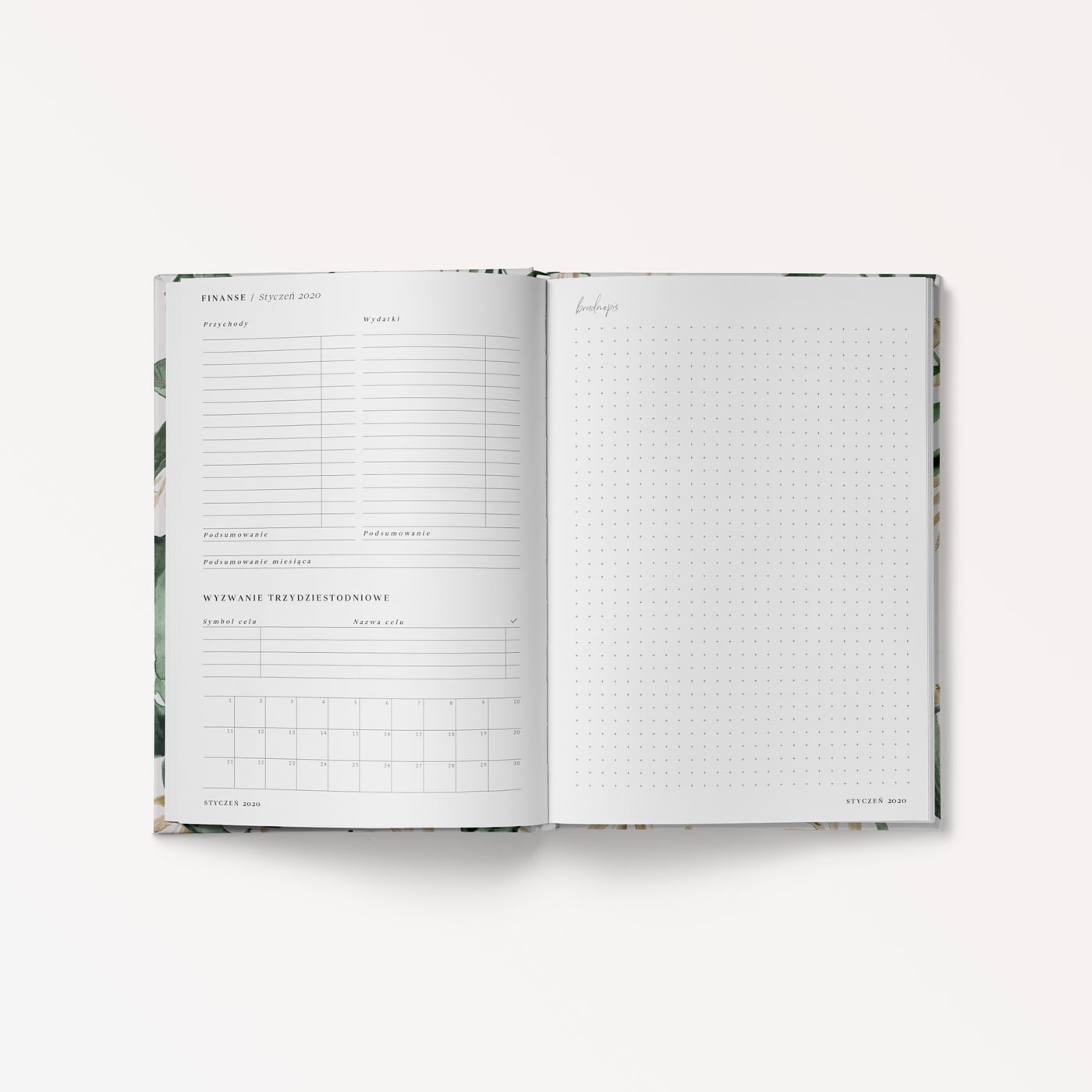 Planner dzienny 2020 Tropical Breeze