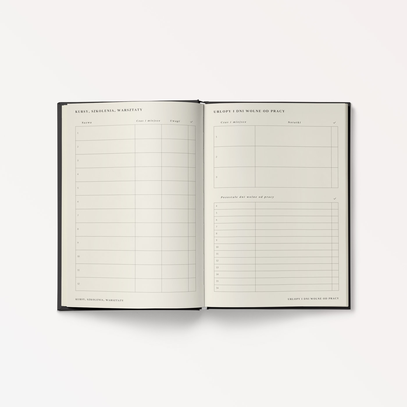 Planner tygodniowy 2020 Pirate Black